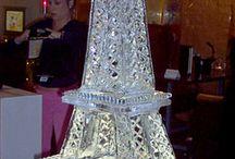 Ice Sculptures / #luxuryweddingplanner #franceweddings #chateauweddingfrance #weddingceremony #weddinginspirations #corporate #event #planner #corporateeventplannerparis #elegant