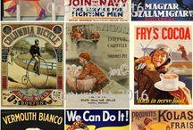 Vintage Ad Posters