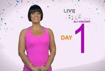 Live Big 30 Day Challenge with Ali Vincent / A way for me to keep track of which of the 30 Day Challenges I have completed and make any notes :)