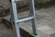 Ladders / Pictures of ladders and attachments either in use or standalone.