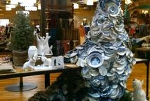 Visual Art Shop Display / Broken Pottery Dress