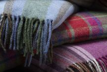 Warm Blankets / #comfort #home #living #plaid #wool