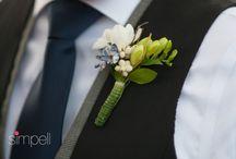 For the Men / Wedding flowers for the men