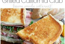 Sandwiches / Sandwich Recipes, Recipes for Sandwiches, Sandwich Ideas