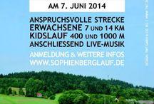 Sportveranstaltungen in und um Oberfranken / Laufen, Radfahren in und um Oberfranken