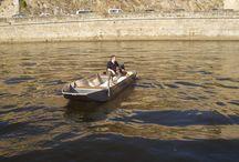 Barque de peche en alu soudee a fond plat Bark Barca da pesca / Barque Barque de pêche Barque alu Barque a fond plat Barque aluminium Barque soudée