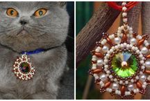 my work / My seed bead, crystal based jewellery