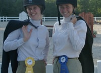 Mississippi College Equestrian Team / Pictures of the MC Equestrian team who practices on our grounds. / by Providence Hill Farm