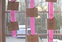 bridal shower ideas / by Valerie Wall