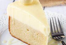 White chokolate truffle cake