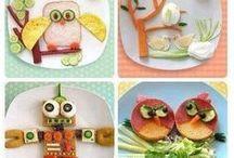 Kreatives Essen für Kids