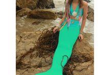 Купить хвост русалки для плавания модели Normal