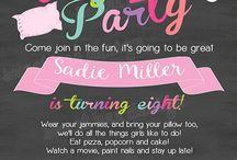 pyžam párty