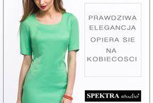 SPEKTRA studio / stylizacje moda spektra producent odzieży damskiej
