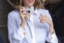 Ladies Cufflinks / Photos of Women wearing Cufflinks