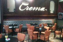 Crema Cafe Mega Mall / Mobilier Chairry @Crema Cafe Mega Mall