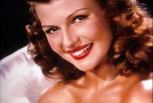 Glamour Girls-Rita Hayworth