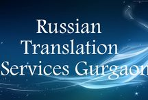 Russian translation services in Gurgaon