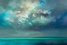 lucht met zee