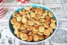 tuzlu kraker ve biskuviler