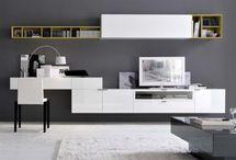 TV+íróasztal