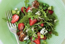salads / by Geraldine Cross