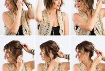 coiffure mi long