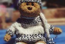 Knitting/Crochet patterns for bears