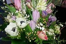 Brides flowers / From posies to shower bouquets to wild bunches - so many choices
