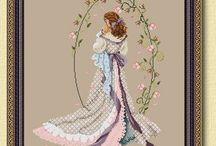 Cross Stitch-Wedding and Baby