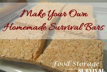 Food for Disaster Kits or Camping / Food you can put in your survival kit, car, or take camping