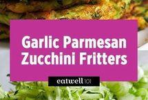 Crispy Zucchini Frittas