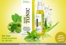 Hair Tonic Green Angelica / Hair Tonic Penumbuh Rambut Green Angelica