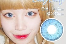 Blue color contacts / Blue color contacts