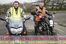 Cấp bằng lái xe máy cho người nước ngoài