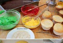 Bbq cupcake ideas