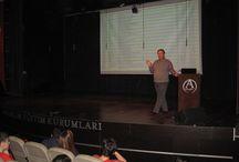 8. sınıflar motivasyon seminerinde buluştu / Yaklaşan TEOG Sınavı öncesinde, 19 Mart Çarşamba günü merkez kampüs Konferans Salonunda 8. snıf öğrencileri için motivasyon ve bilgilendirme semineri düzenlendi.