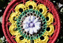 Crochet Terapia / El tejido crochet como medio para luchar contra el estrés, como terapia ocupacional.