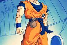 Goku & Vegeta Gif