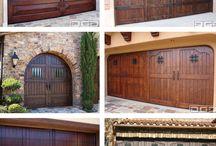Garage door ideas / Garage doors