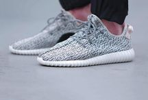 "Transcendent Disruption | Yeezy 350 / Inspirations, moods, and studies that aided the development of the Mad Wonders Yeezy 350 piece, ""Transcendent Disruption."""