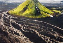 Islande / Ces paysages volcaniques sont à couper le souffle. .