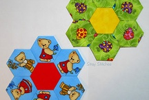 Quilts - Hexies that make me smile