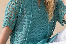 вязаные блузы