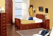 Dormitorio madera fresno