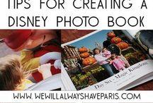 Disney vacation photobook ideas