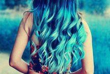 cabello de colores <3