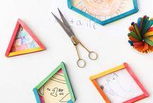 Un jour un popsicle stick / Que faire avec des bâtons de glace ? En voici des idées ! #popsiclestick #activitécréative #loisircréatif #diy #enfant
