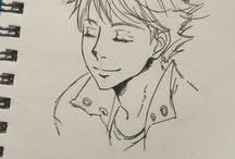 anime sketch ✍