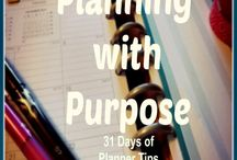 Planning With Purpose - 31 Days of Planner Tips (October 1-31)